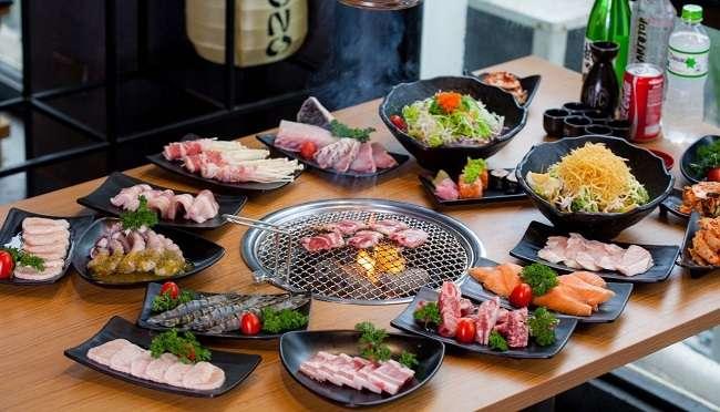Quán ăn có phòng riêng Yakimono