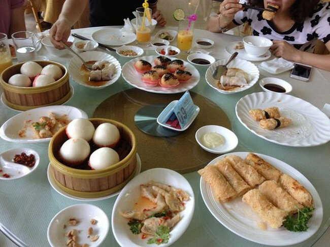 Ah Yat Abalon có nhiều món ăn cực thơm ngon.