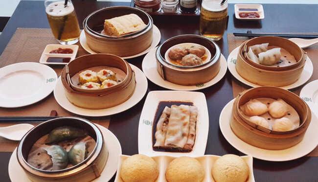 Quán ăn có hương vị đặc trưng của ẩm thực Trung Hoa.