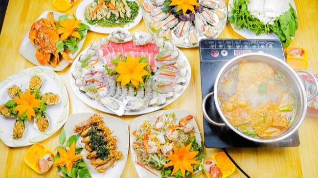 Quán ăn hải sản Tadifar
