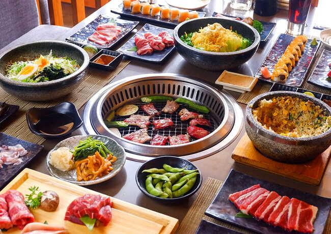 Quán ăn Nhật ngon ở Sài Gòn Sumo BBQ