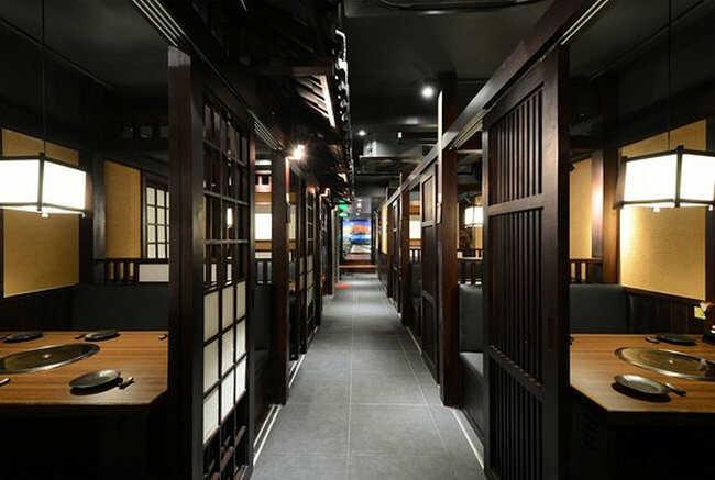 Không gian Quán ăn Nhật ngon ở Sài Gòn ấn tượng