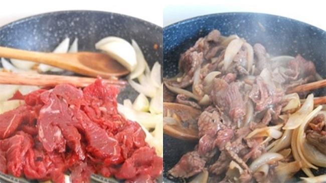 món ngon từ thịt bò