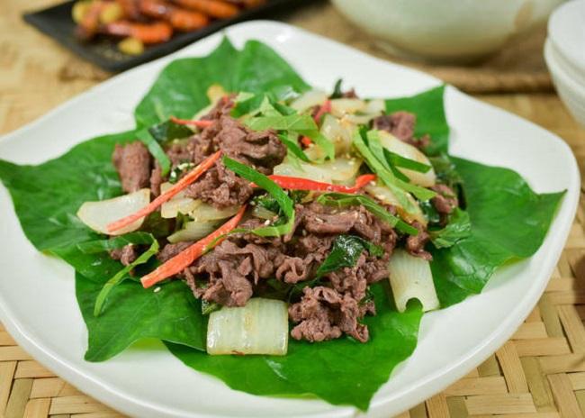 công thức nấu thịt bò ngon