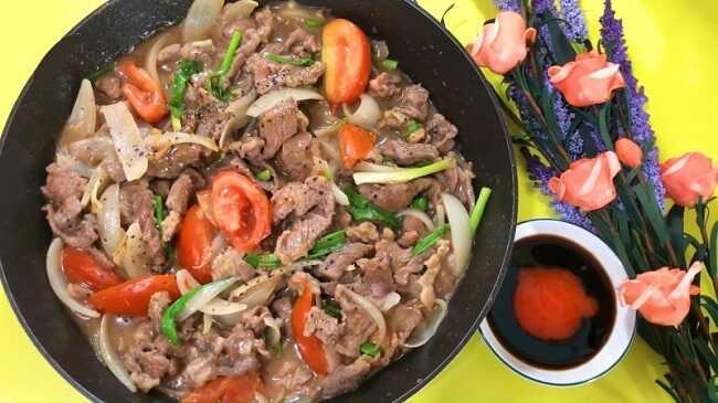 Món ngon mỗi ngày từ thịt bò