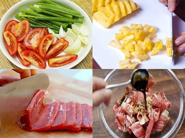 Nguyên liệu nấu thịt bò đơn giản