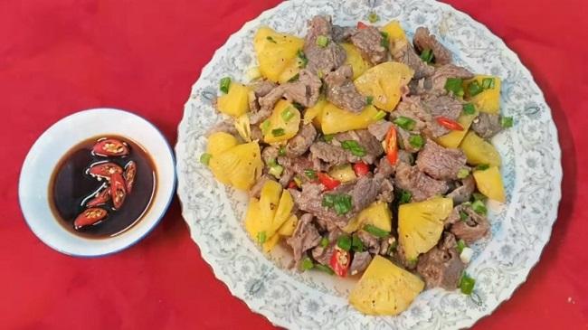 Món ngon dễ làm từ thịt bò